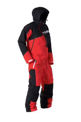 Kelkkahaalari TOBE Nox Mono Suit vuorellinen, High Risk Red -  - 632-9317-203-0 - 1