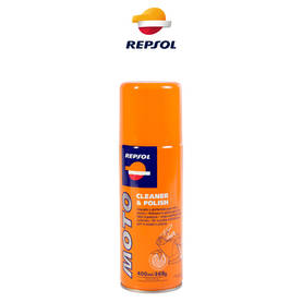REPSOL MOTO CLEANER & POLISH 400 ml - Huoltotuotteet - 80092 - 1