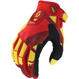 Scott 450 Cubic glove yellow/red -  - 626-4322-2 - 1