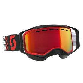 Scott Goggle Prospect Snow Cross red/black amplifier red chrome -  - 620-0501-4 - 1