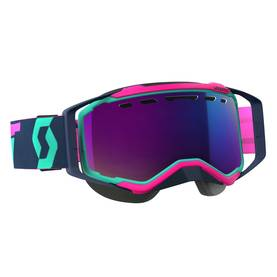 Scott Goggle Prospect Snow Cross teal/pink amplifier teal chrome -  - 620-0501-5 - 1