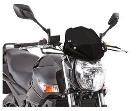 Givi Specific screen, black 29 x 28,5 cm (HxW) - Tuulisuojat - 323-247N - 1